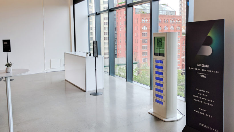 Phone Charging Kiosks with Lockers