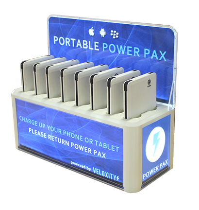 Multiple Device Phone Charging Kiosks
